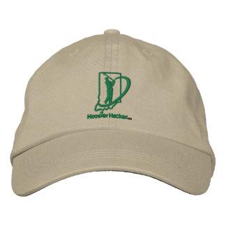 Hoosier Hacker Embroidered Adjustable Hat Embroidered Hat