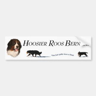 HOOSIER ROOS BUMPER STICKER