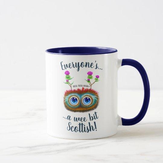 Hoots Toots Haggis, A Wee Bit Scottish! Mug