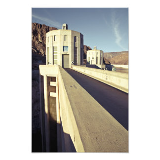 Hoover Dam Towers Photo Print