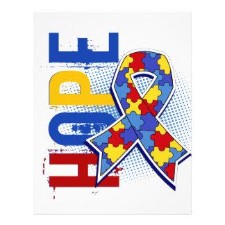 Hope 2 Autism 21.5 Cm X 28 Cm Flyer