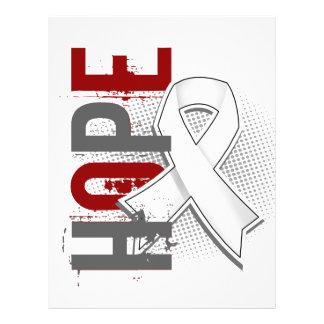 Hope 2 Lung Cancer 21.5 Cm X 28 Cm Flyer