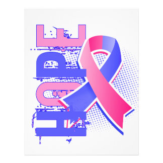 Hope 2 Male Breast Cancer 21.5 Cm X 28 Cm Flyer