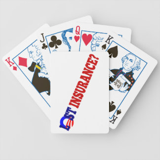 Hope and Change? Bicycle Playing Cards