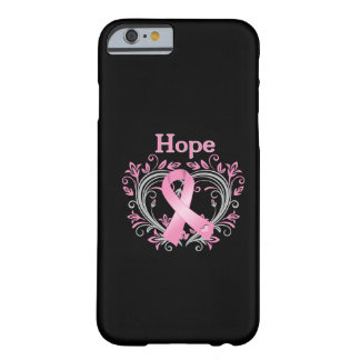 Hope Breast Cancer Awareness Ribbon Barely There iPhone 6 Case