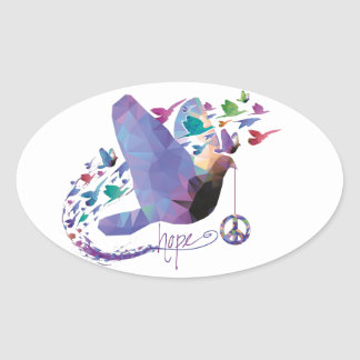 Hope for peace - Sticker
