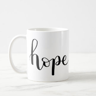 Hope Hand-Lettered Mug