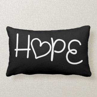 Hope Heart Pillow Cushion