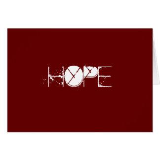 HOPE holiday card
