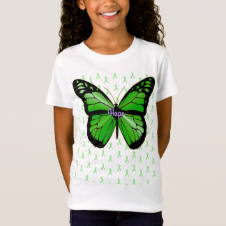 Hope Lime Green Butterfly Lyme Disease Awareness T-Shirt