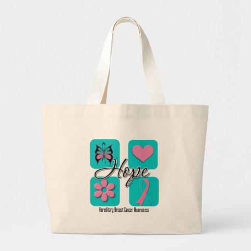 Hope Love Inspire Hereditary Breast Cancer Bags