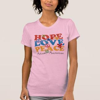 Hope, Love, Peace autism awareness Tee Shirts