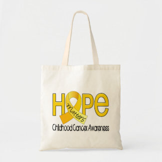 Hope Matters 2 Childhood Cancer Tote Bags
