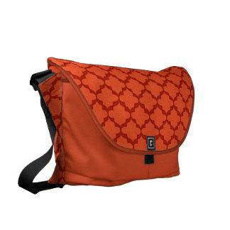 Hope Messenger Bag - Tangerine Lg.