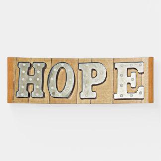 HOPE Protest Banner or Yard Sign