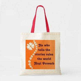 Hopi proverb bag