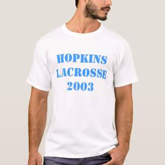 Hopkins Lacrosse 2003 T-Shirt