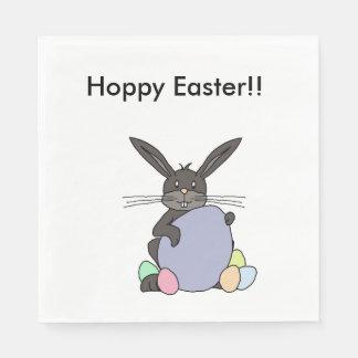 Hoppy Easter!! Disposable Serviettes