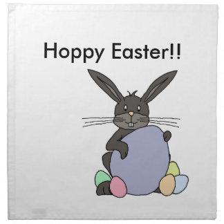 Hoppy  Easter Printed Napkin