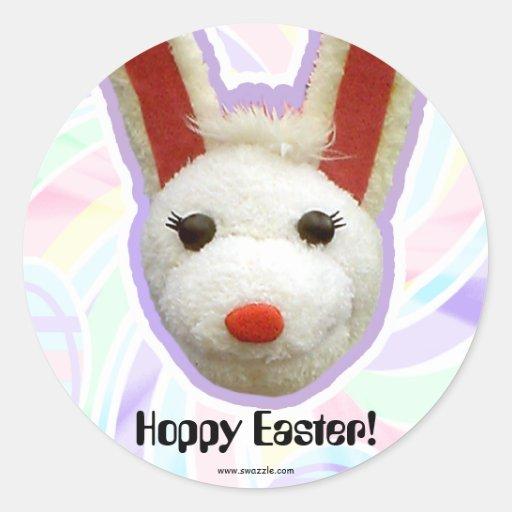 Hoppy Easter Sticker