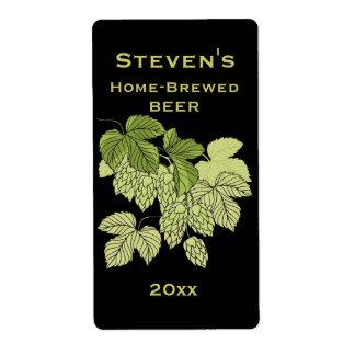 Hops Home-Brew Label