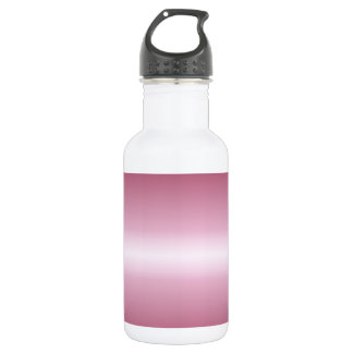 Horizontal Pink Lace and Burgundy Gradient 532 Ml Water Bottle