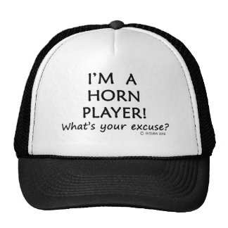 Horn Player Excuse Cap
