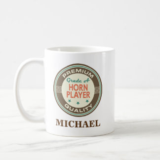 Horn player Personalized Office Mug Gift