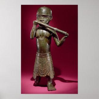 Hornblower, from Benin, Nigeria Print