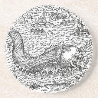 Horned Sea Serpent Coasters