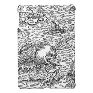 Horned Sea Serpent/Monster Cover For The iPad Mini