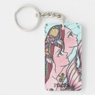 horoscope Pisces key chain