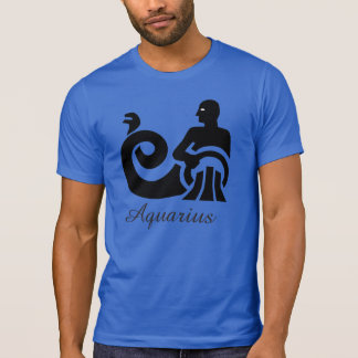 Horoscope Sign Aquarius Tie Dye Shirt