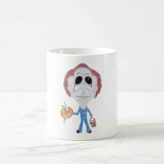 Horror Cult Movie Serial Killer Caricature Mug