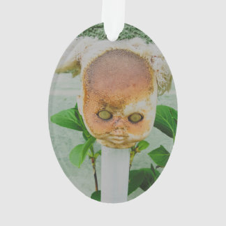 Horror doll head