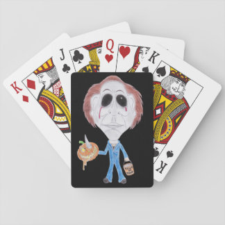 Horror Movie Serial Killer Caricature Playing Card Card Deck