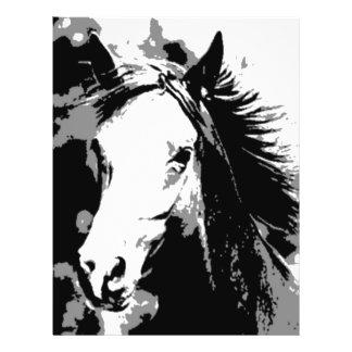 Horse 21.5 Cm X 28 Cm Flyer