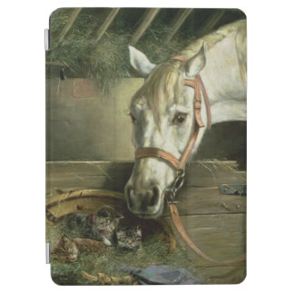 Horse and kittens, 1890 iPad air cover