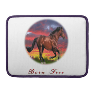 Horse art gifts sleeves for MacBooks