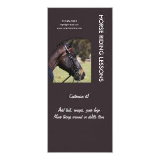 Horse business marketing rack cards
