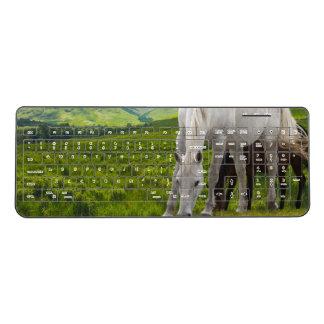 Horse Custom Wireless Keyboard