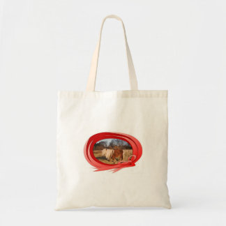 "Horse Design Canvas Bag ""Minishetty Tommy """
