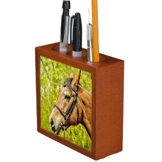 Horse - Desk Organizer Pencil/Pen Holder