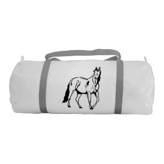 Horse Duffle Bag Gym Duffel Bag