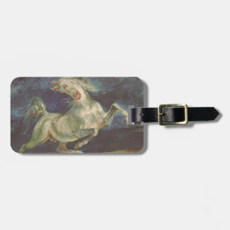 Horse Frightened by a Storm by Eugene Delacroix Luggage Tag
