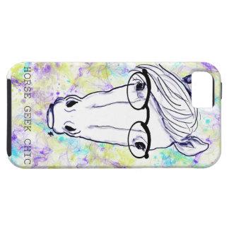 Horse Geek Chic iPhone 5 Case