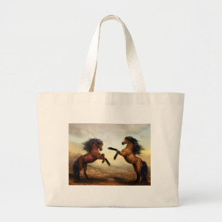 Horse Gifts Large Tote Bag