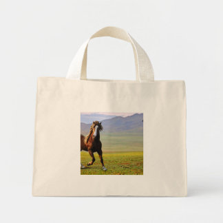 Horse Mini Tote Bag