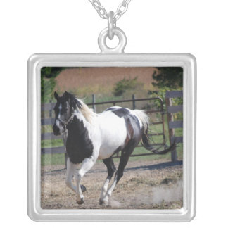 Horse/Paint Pinto Silver Plated Necklace