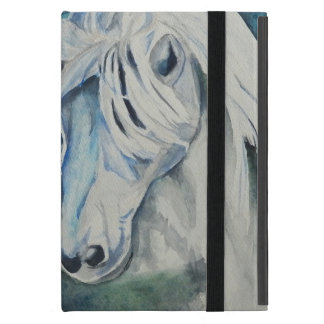 Horse Powis iCase iPad Mini case Blue